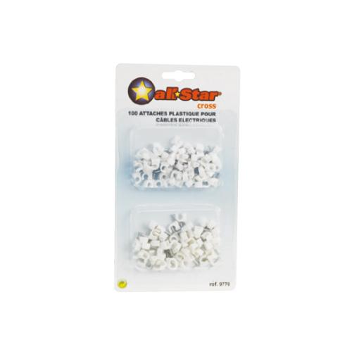 NXJ-0507/0810/1115/1619/1620/1625 钩形钢钉线卡